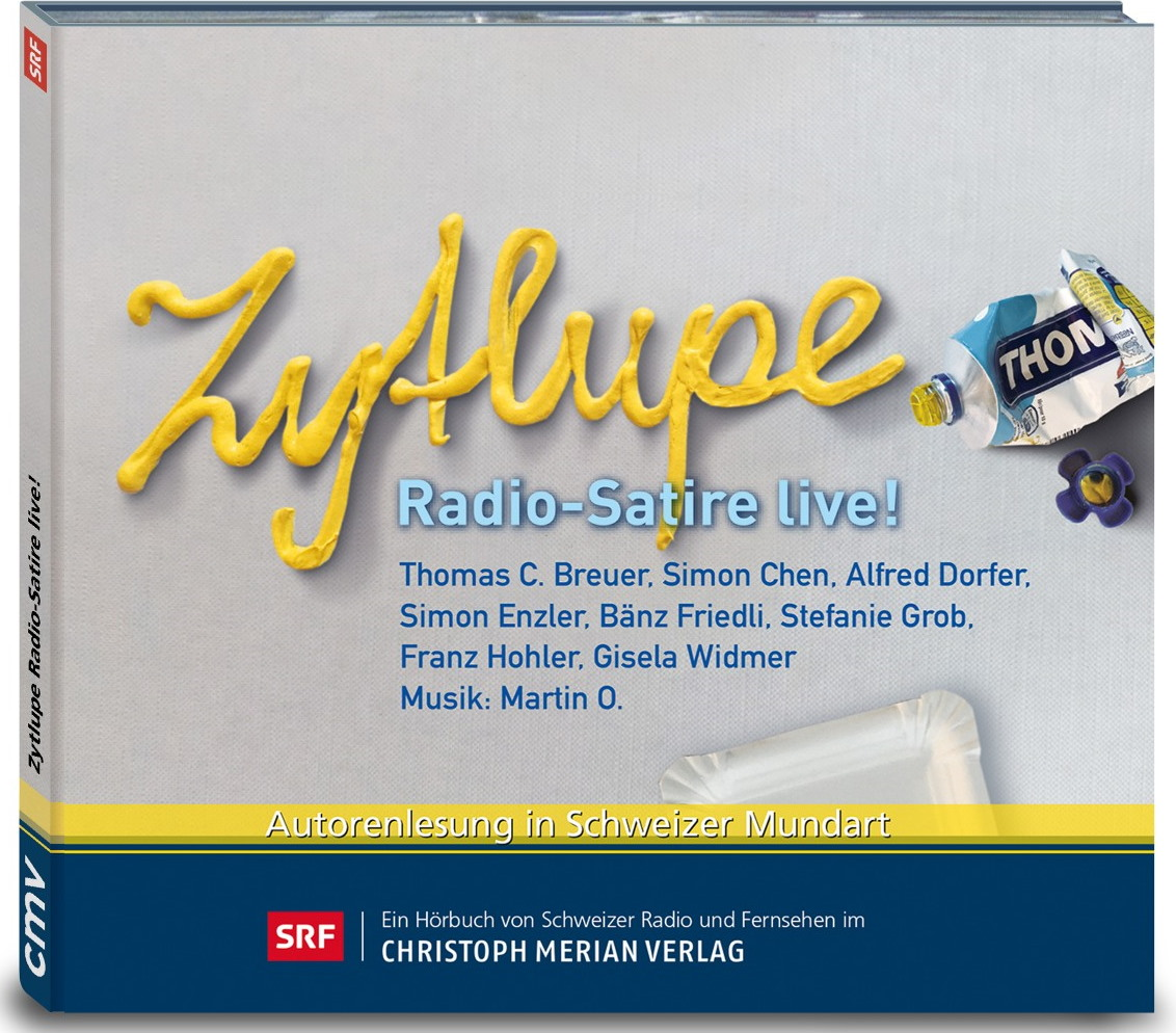 CD: Zytlupe - Radio-Satire live!